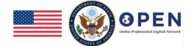 Online Professional English Network (OPEN) Alumni Community of Practice logo