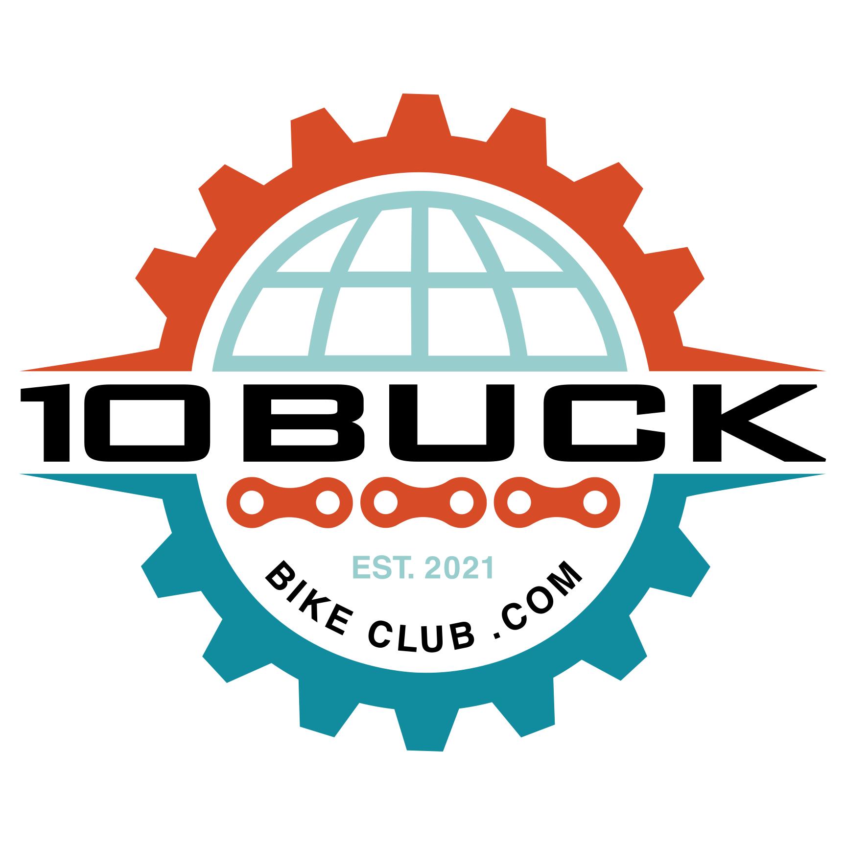 10 Buck Bike Club logo