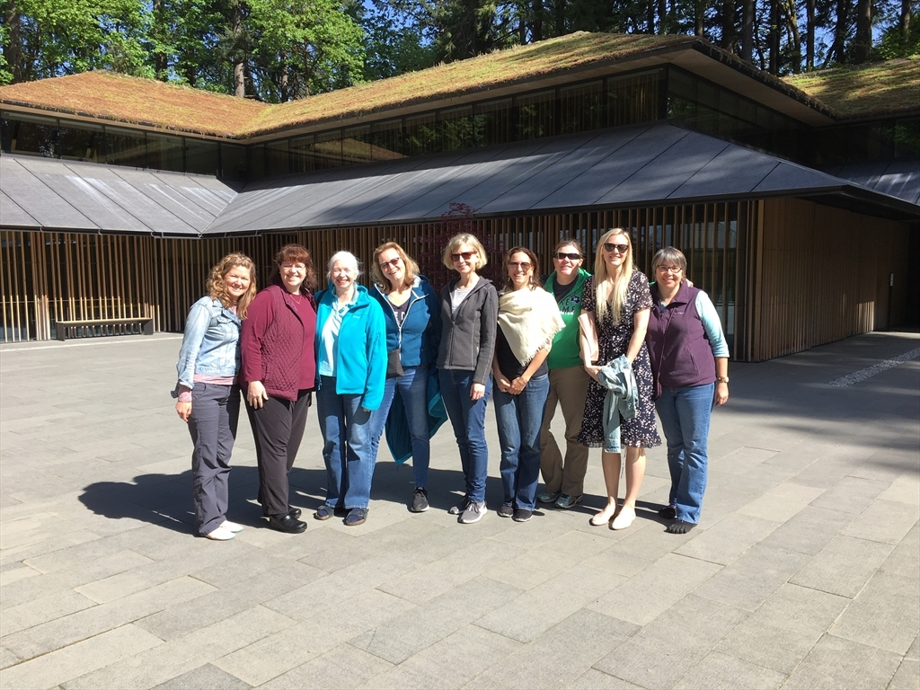 NDWC Portland at a Japanese garden
