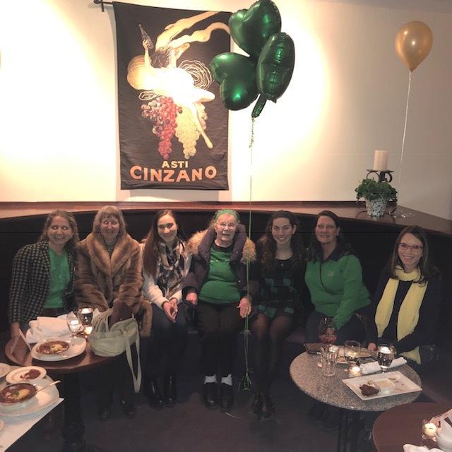 NDWC Flint celebrating St. Patrick's Day