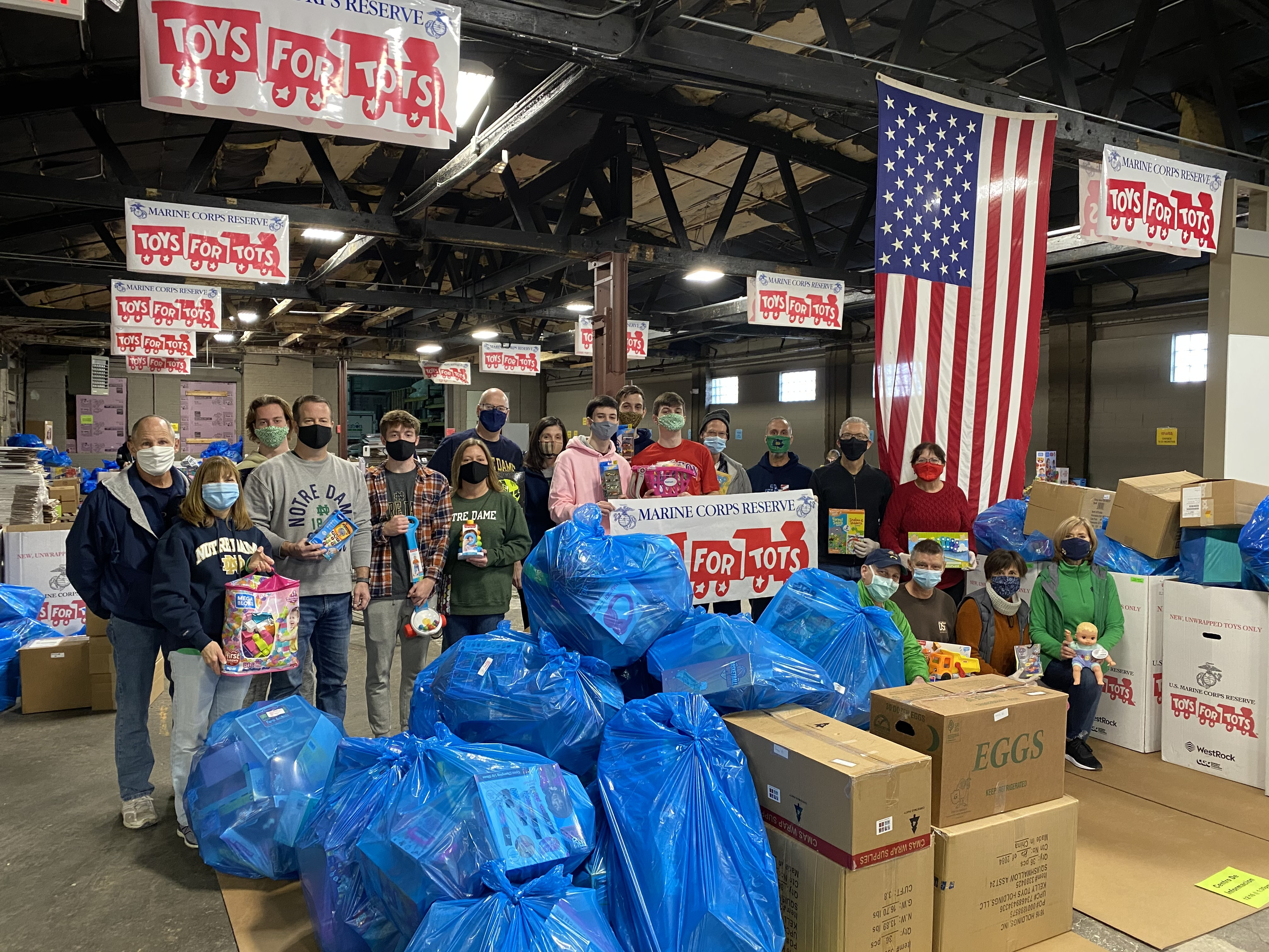 NDAFV + Toys for Tots