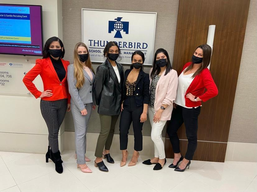 Thunderbird Women in Business Club members